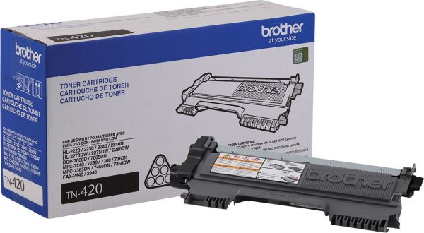 Brother® Toner TN-420 Negro