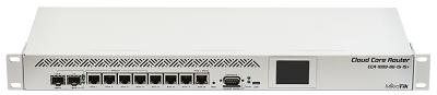 MIKROTIK 9-1.2GHZ 1-SFP+10G 1-SFP 8-1000 1-USB 2-220V L6 RACK POE-IN