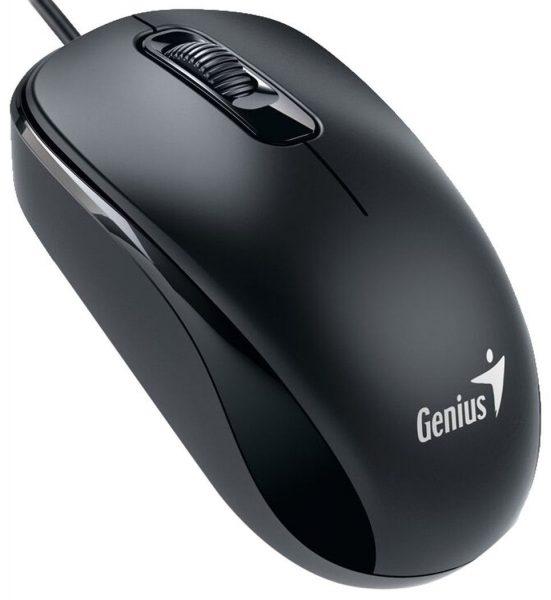 Genius® Mouse DX-110 Óptico USB Negro
